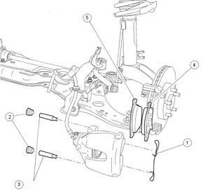 Замена тормозных дисков и колодок на Ford Focus 2