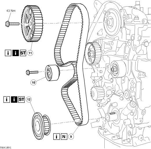 Инструкция По Замене Цепи Грм На Форд-Мондео3