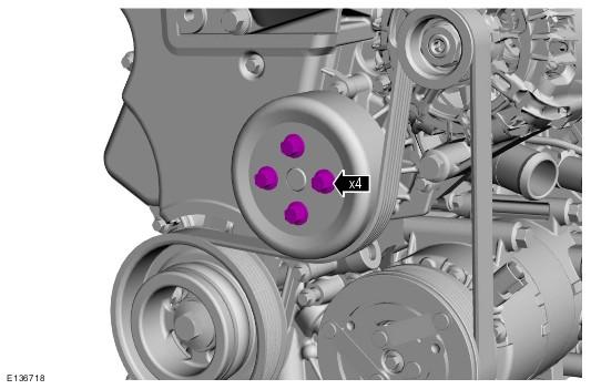 Замена ремня ГРМ двигатель 1.6
