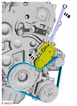 замена ролика натяжителя ремня генератора ford c-max
