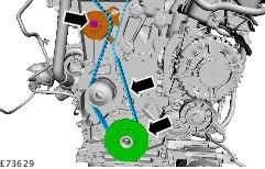 Замена ремня ГРМ Ford Focus 3 Duratorq 2.0 - Ремонт и Запчасти Форд