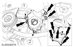 Форд фокус 2006 замена ремня грм 47