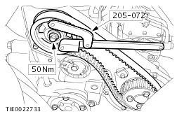 замена ремня грм 1.8 tdci ford connect.