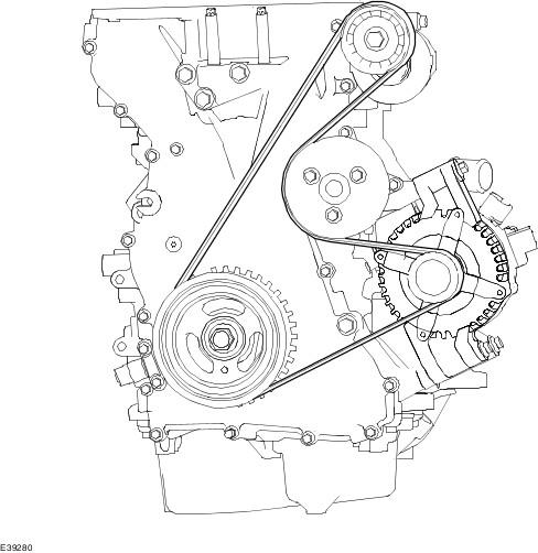 ремня Ford Focus 2 Duratec