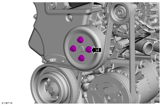 грм двигателя ford mondeo 1.6